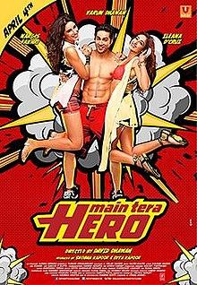 Main Tera Hero songs lyrics