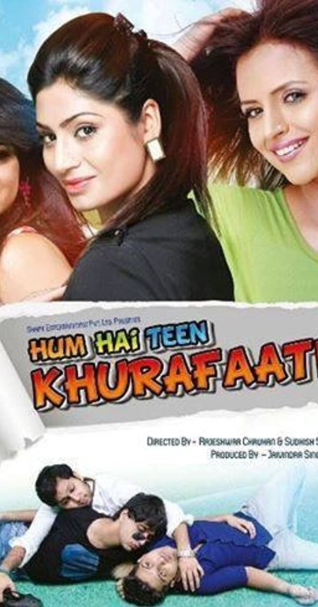 Hum Hai Teen Khurafaati song lyrics